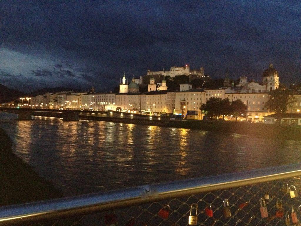 Love locks Salzburg