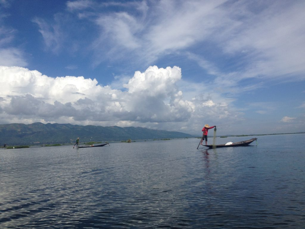 Intha Fisher at Inle Lake
