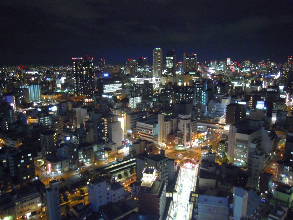 Osaka nightview