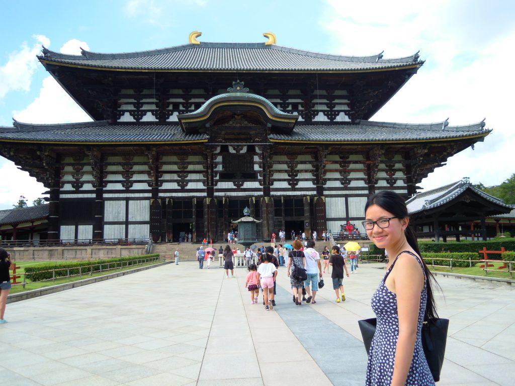 Temple Nara Japan