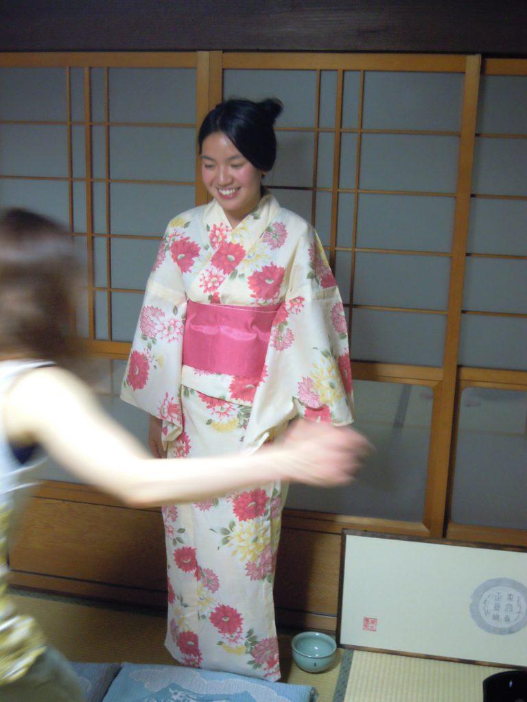 Kimono Dress up