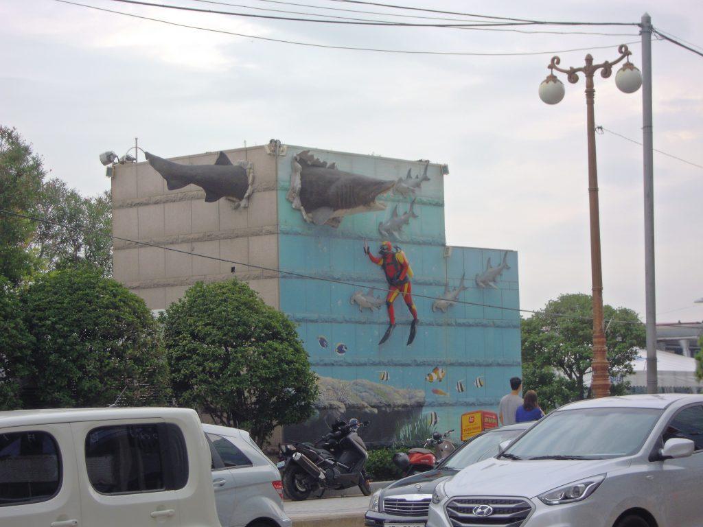 Bulding, Busan, South Korea