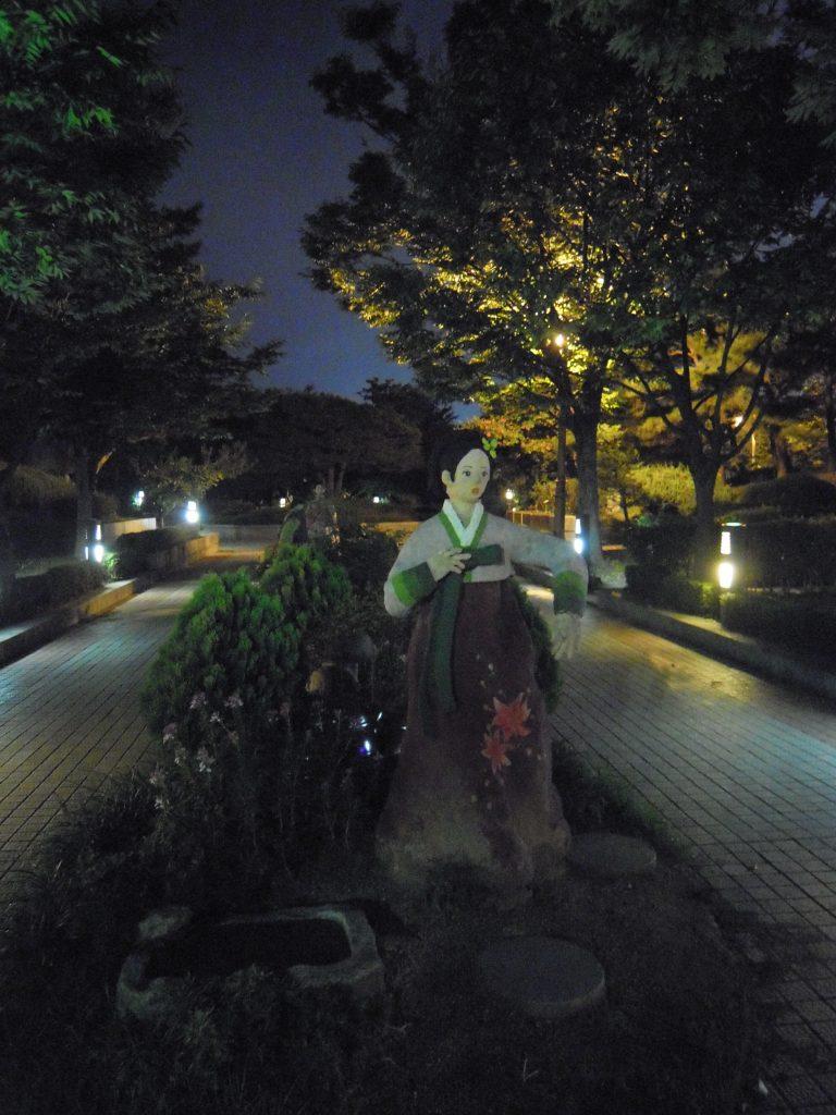 Statue in Jeonju, South Korea
