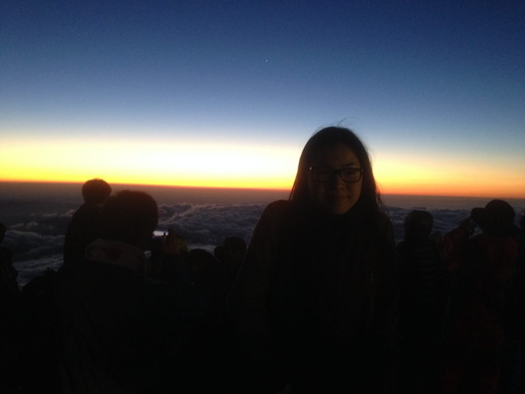 Fuji Mountain Sunrise, Japan