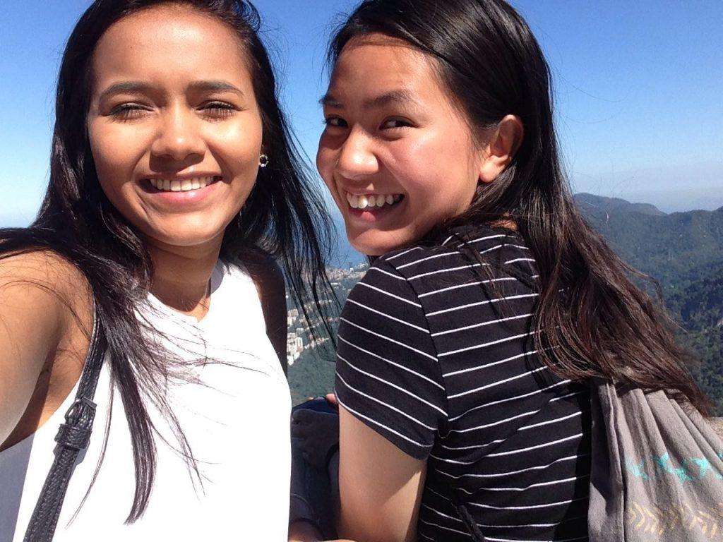 Girls visiting Rio