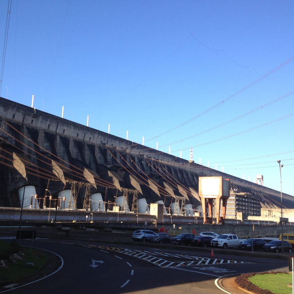 Generators, hydroelectric dam
