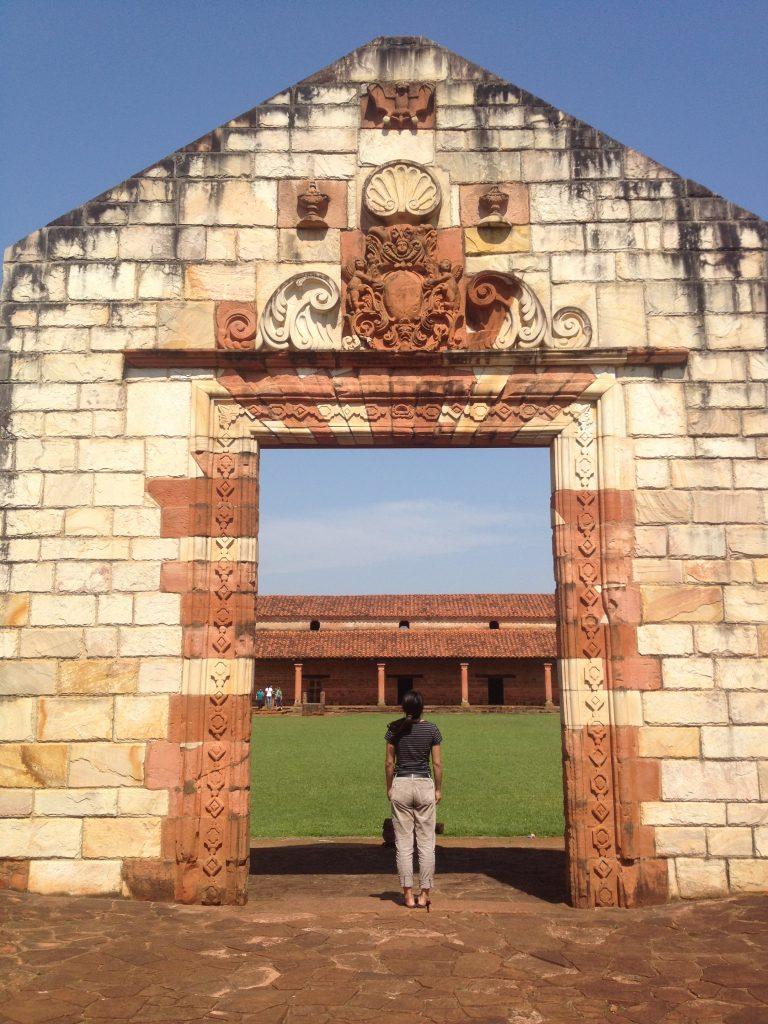 Jesuit ruins Paraguay