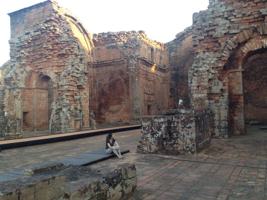 Jesuit reduccion Paraguay