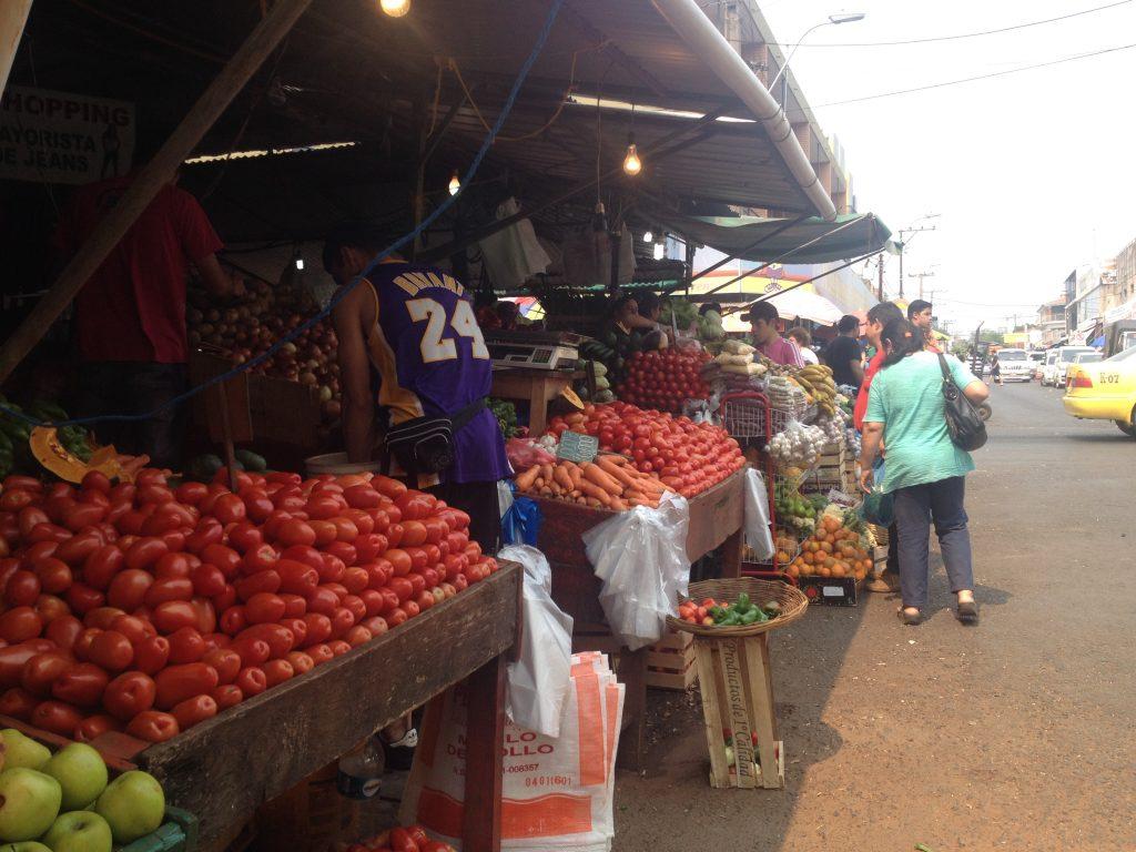 Market Asuncion, Paraguay