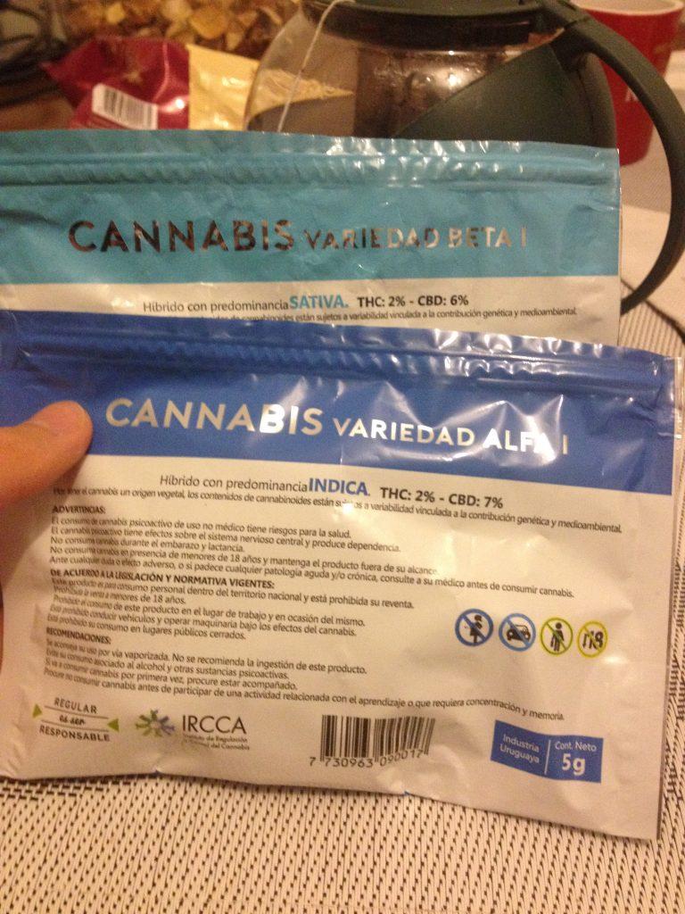 Cannabis bags