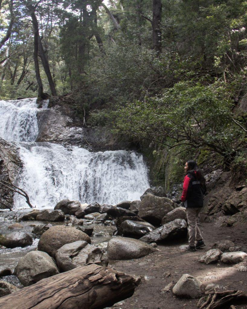 Cascada, National Park Nahuel Huapi