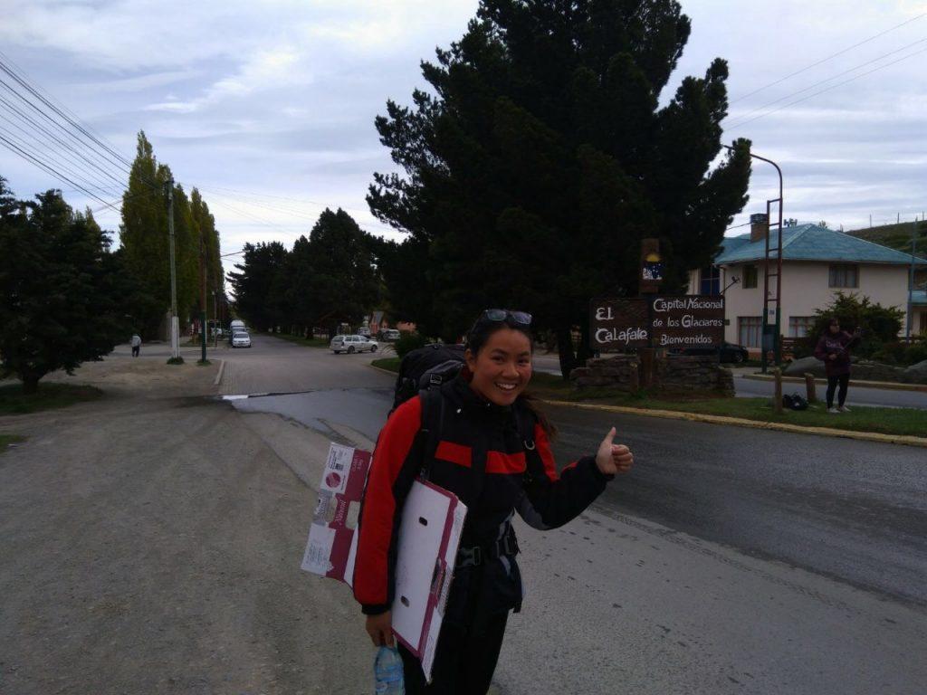 Hitchhiking El Calafate