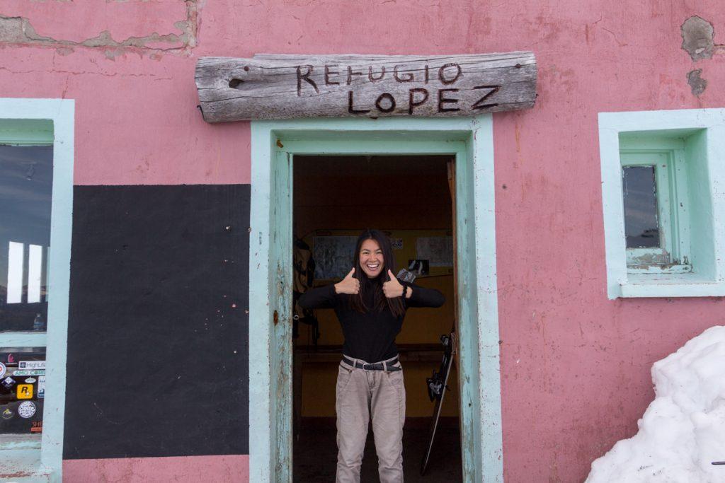 Refugio Lopez, Bariloche