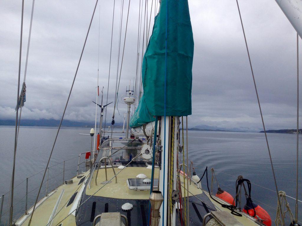 Sailing Chile