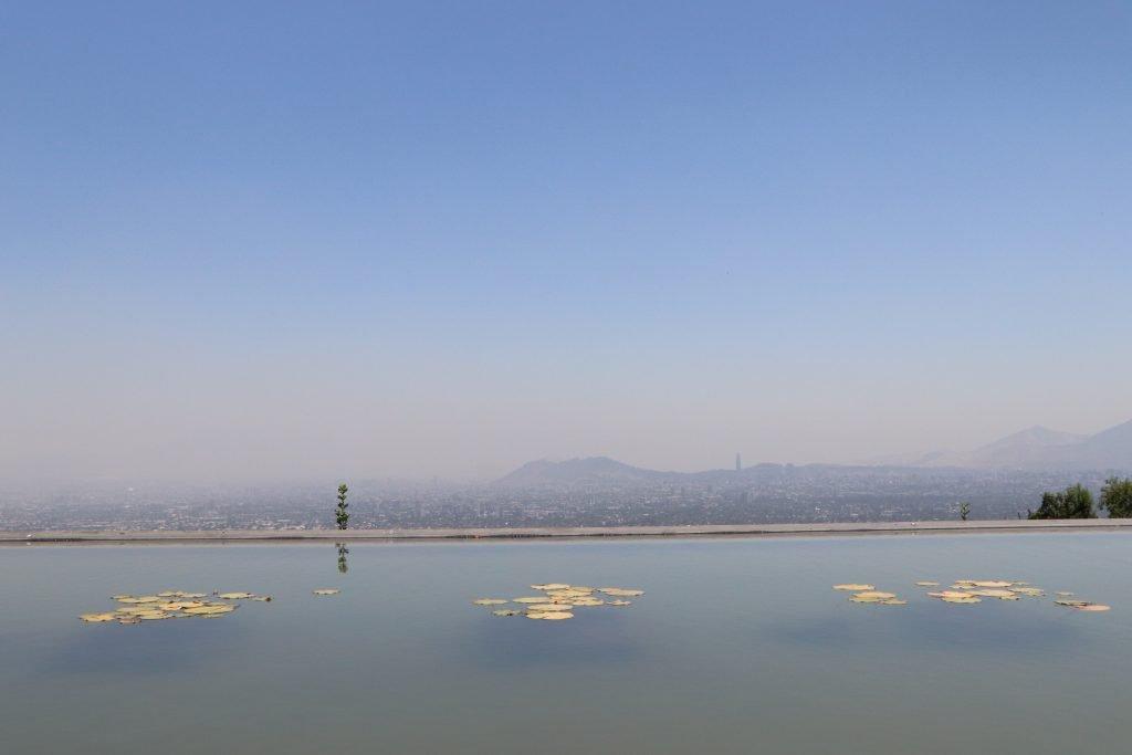 Bahai Temple view