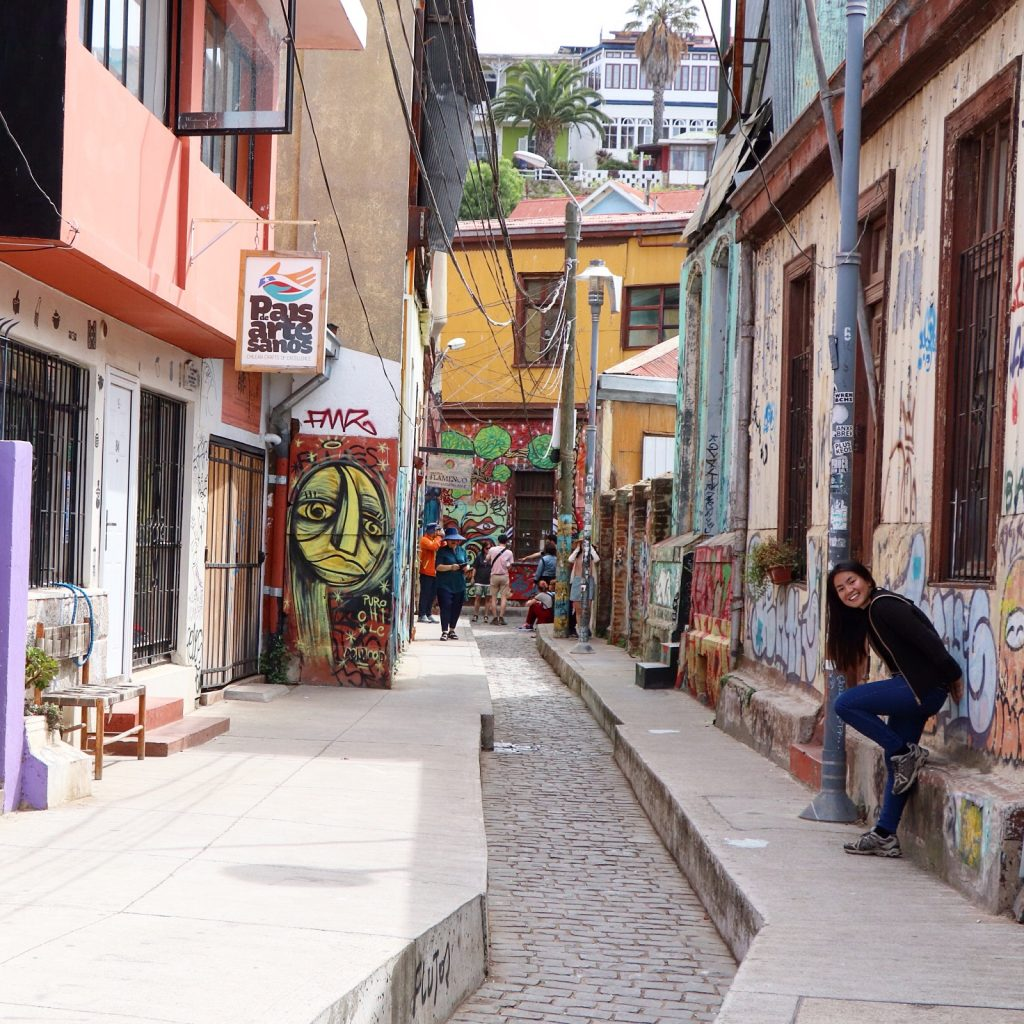 Art in Valparaiso