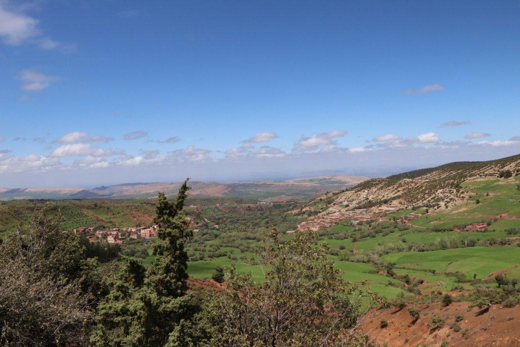 mountains, morocco
