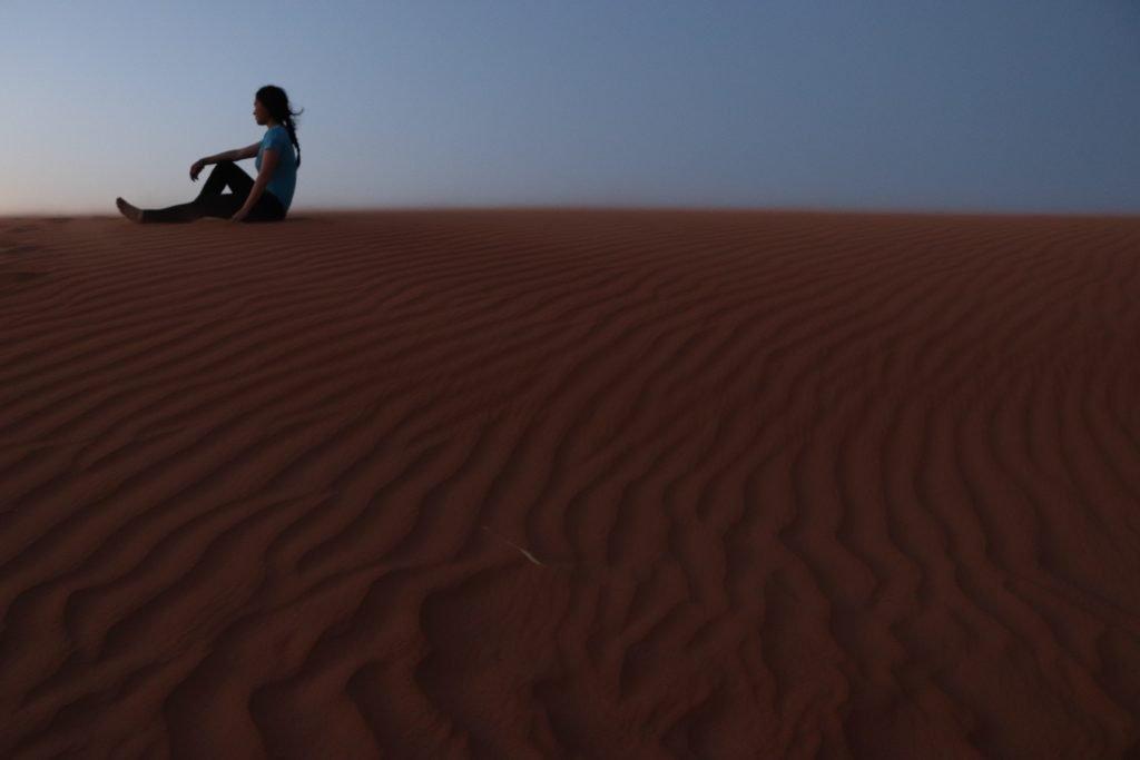 visiting sahara desert