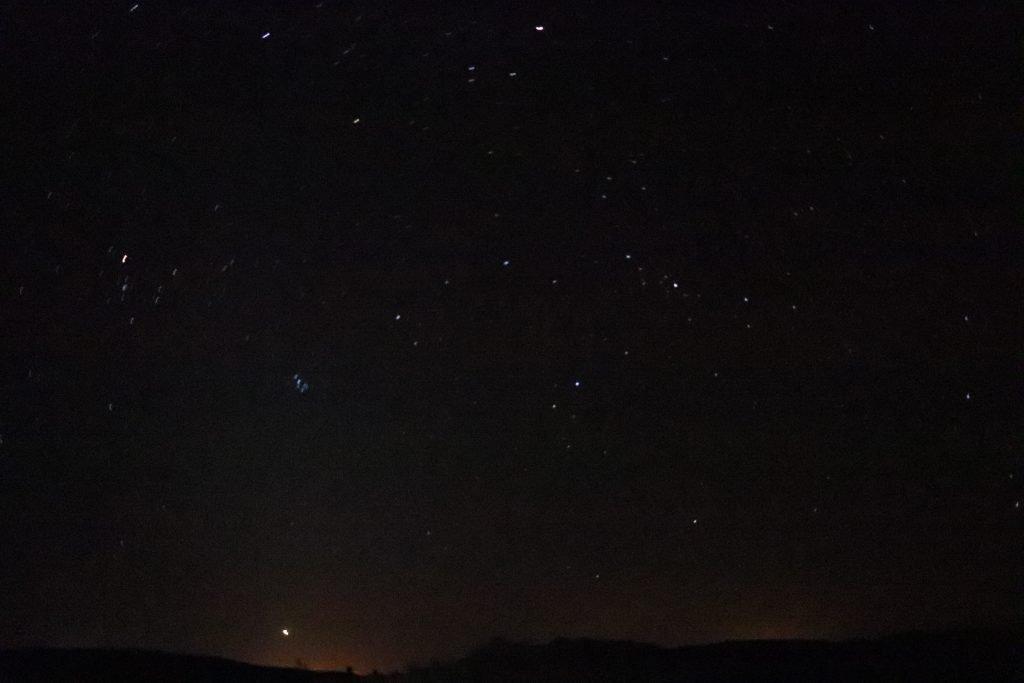 night sahara desert