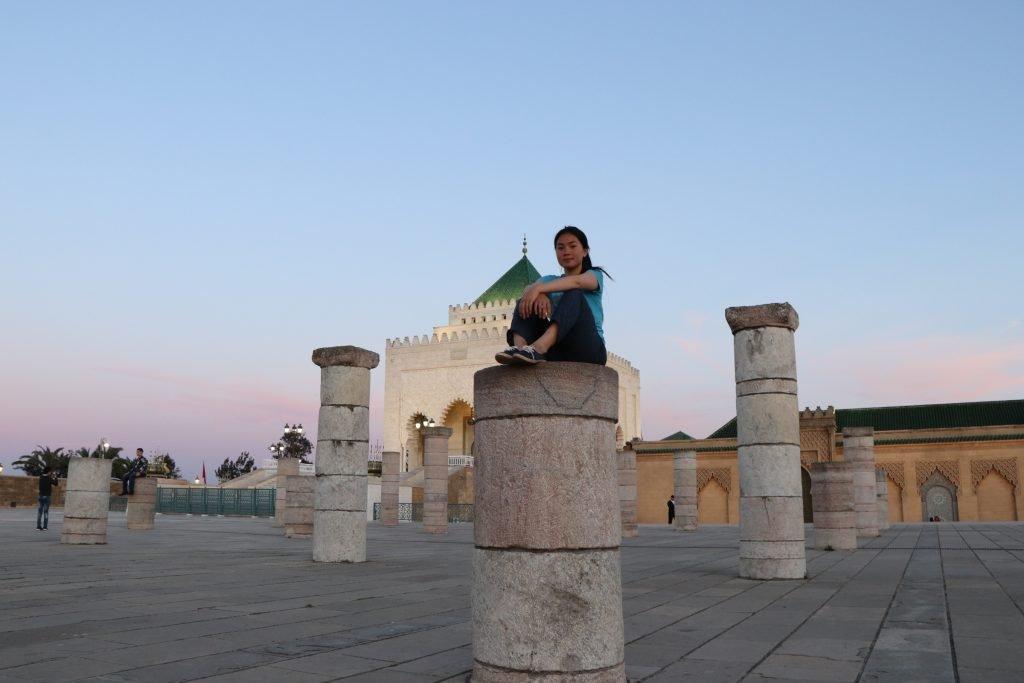 mausoleum mohammed v in rabat