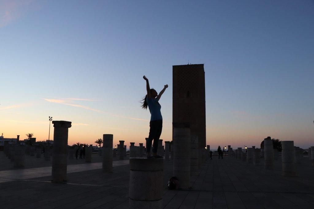 Sunset in Rabat