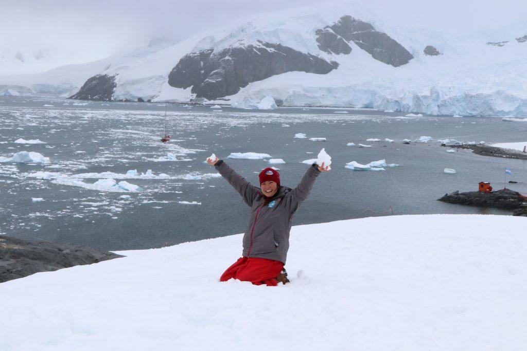 Antarctica argentine base