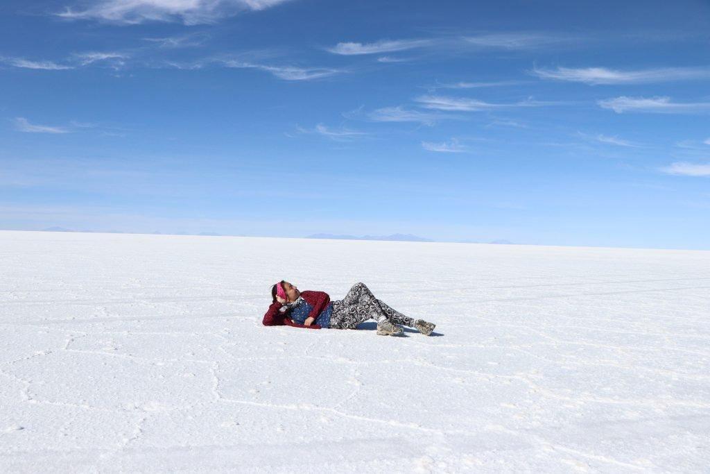 Salt flat bolivia