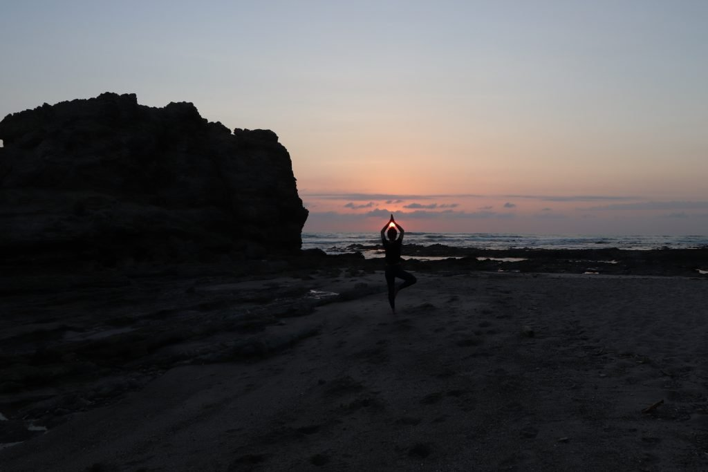 Yoga beach costa rica