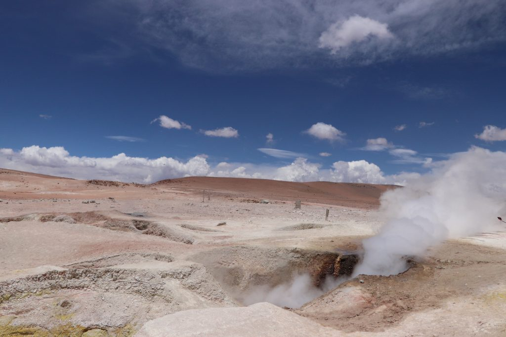 Geothermal field Bolivia