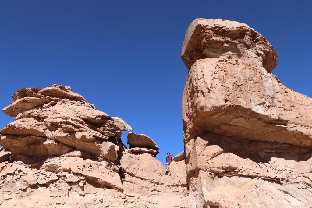 Bolivia, rock formation