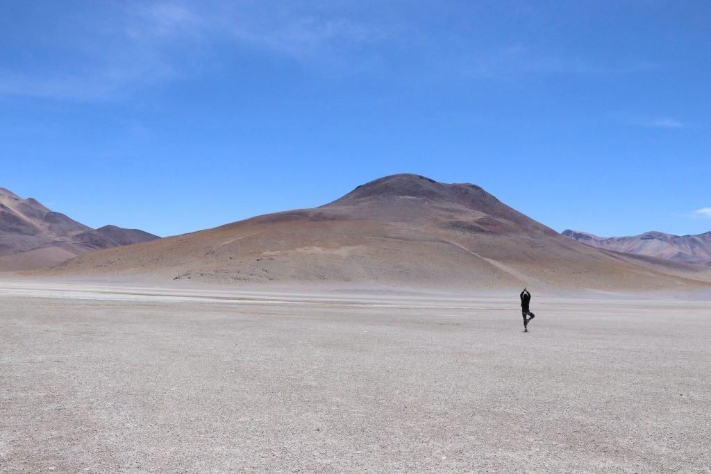 landscape of Potosi, Bolivia