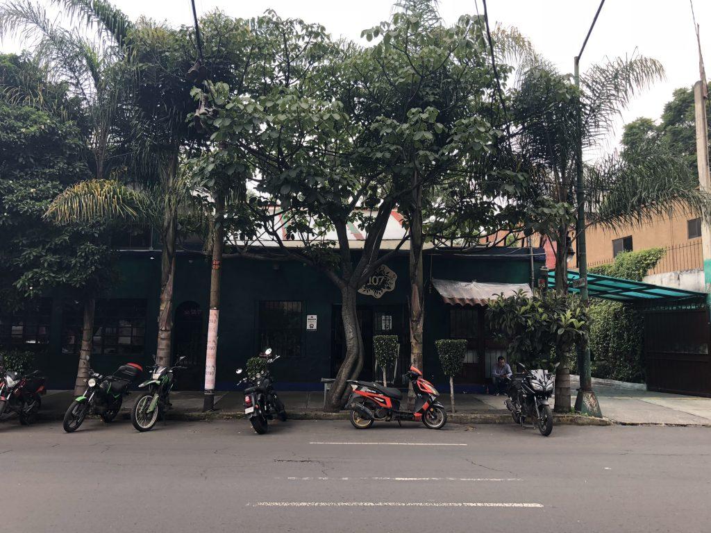 Coyoacan neighbourhood