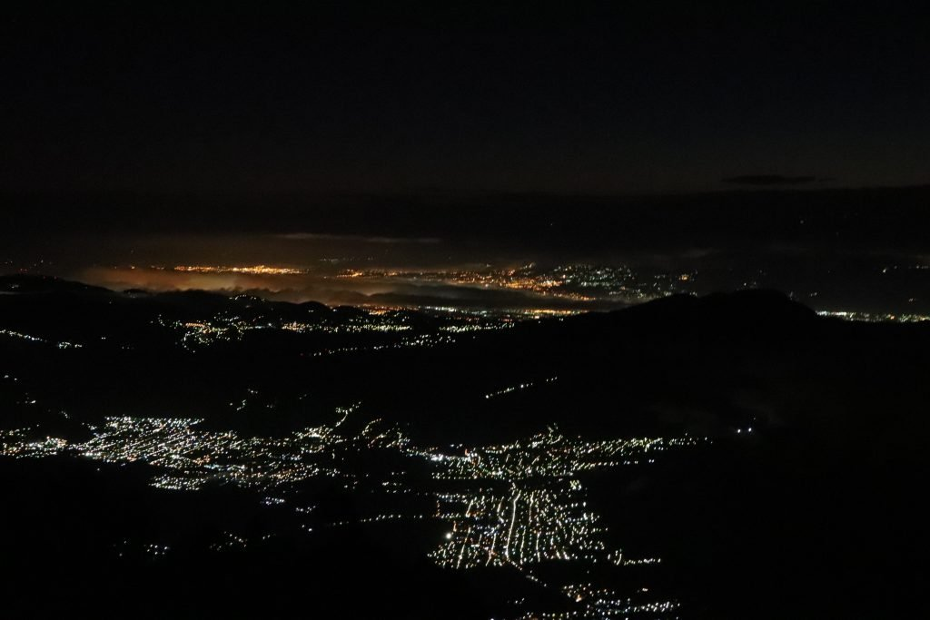Night view of a city