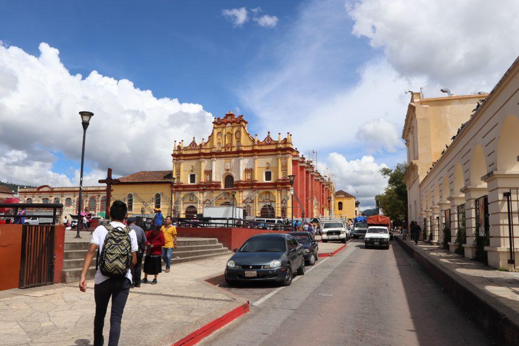 Plaza San Cristobal de las casas