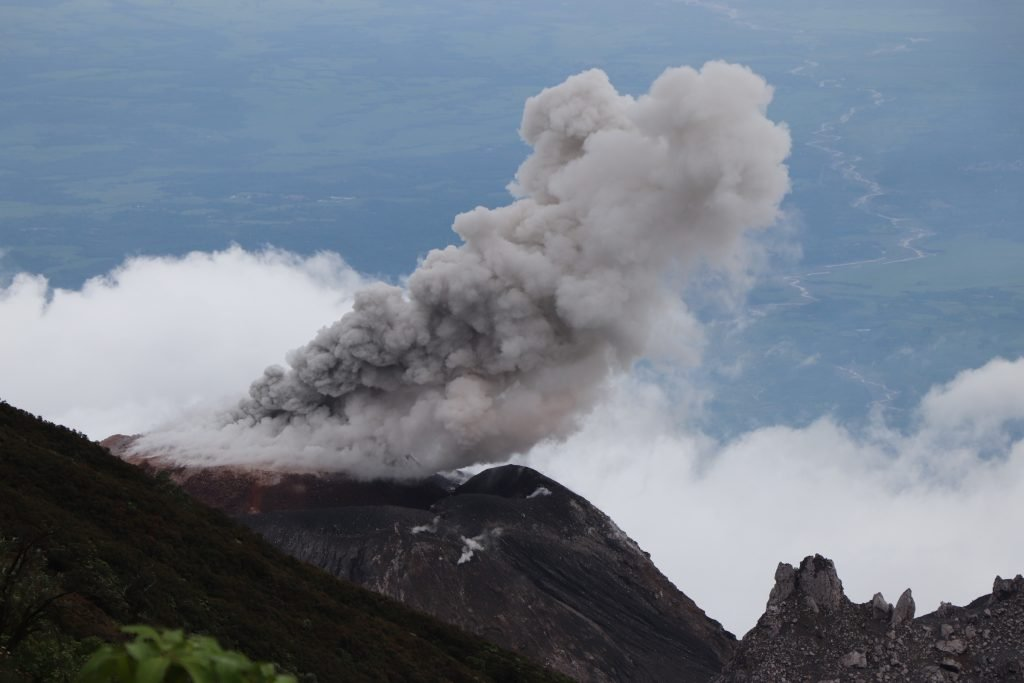 Volcanic Eruption Guatemala