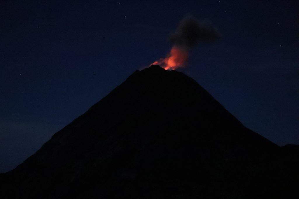 Eruption Volcano Guatemala