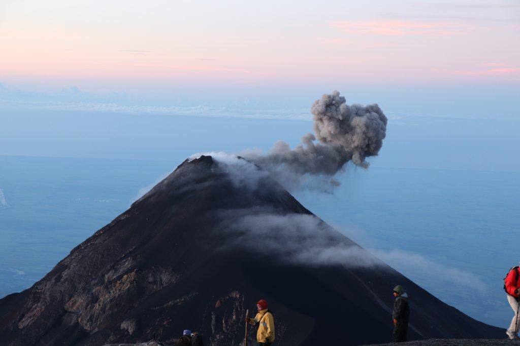Volcanic Eruption Volcano Acatenango