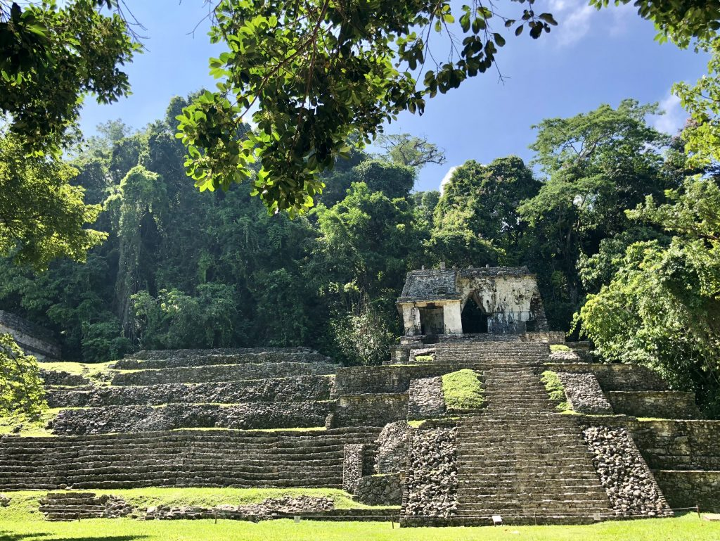 archaeological zone Palenque