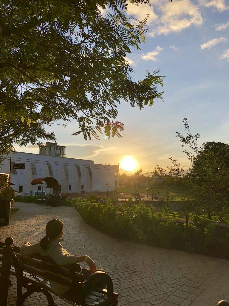 Sunset Guate