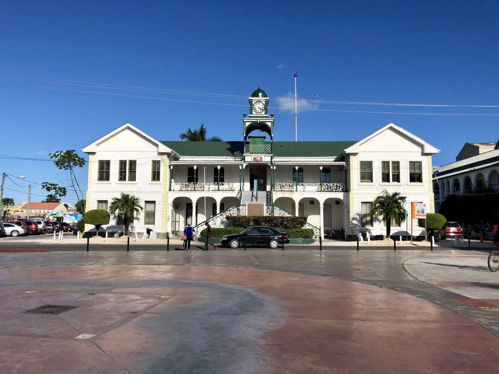 Building in Belize City
