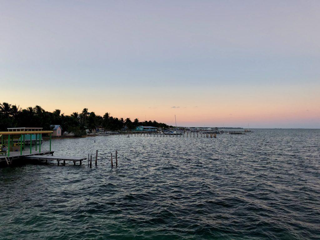 Sunset carribean