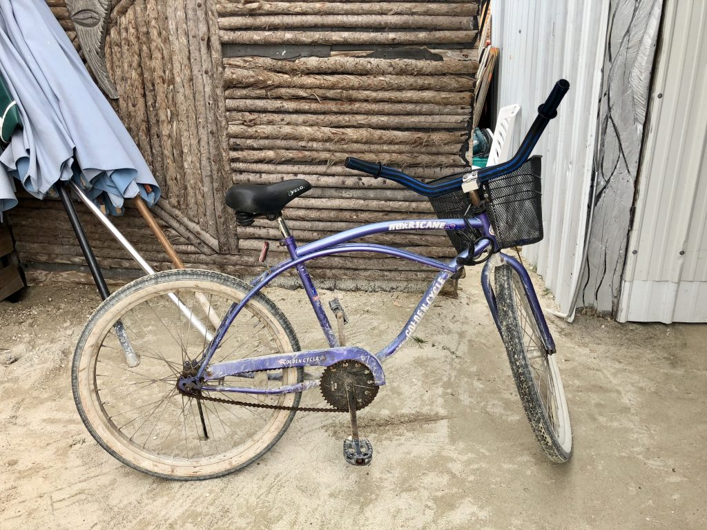 Biking San pedro, belize