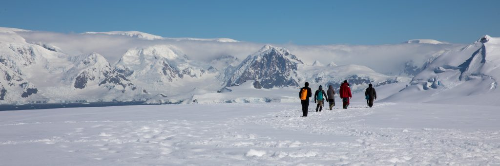 Expedition in Antactica