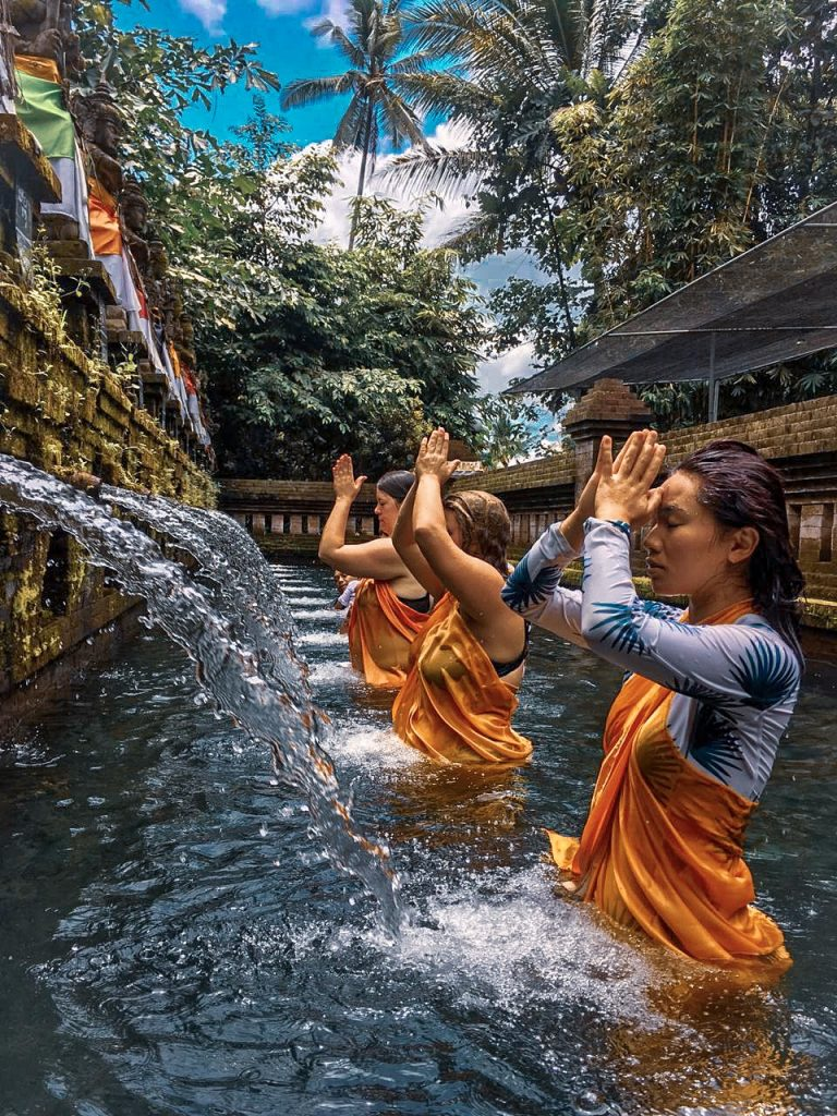 Purification of soul in Bali 2018