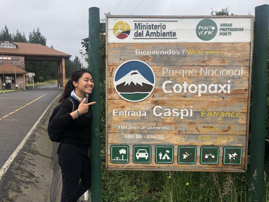 entrance to cotopaxi