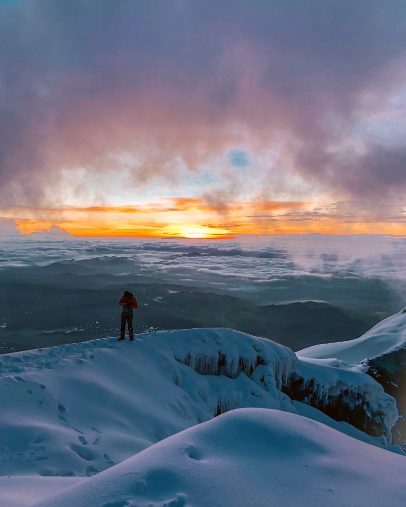 sunrise cotopaxi summit