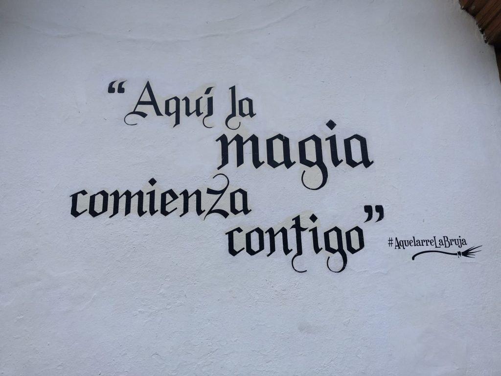 aqui la magia comienza contigo