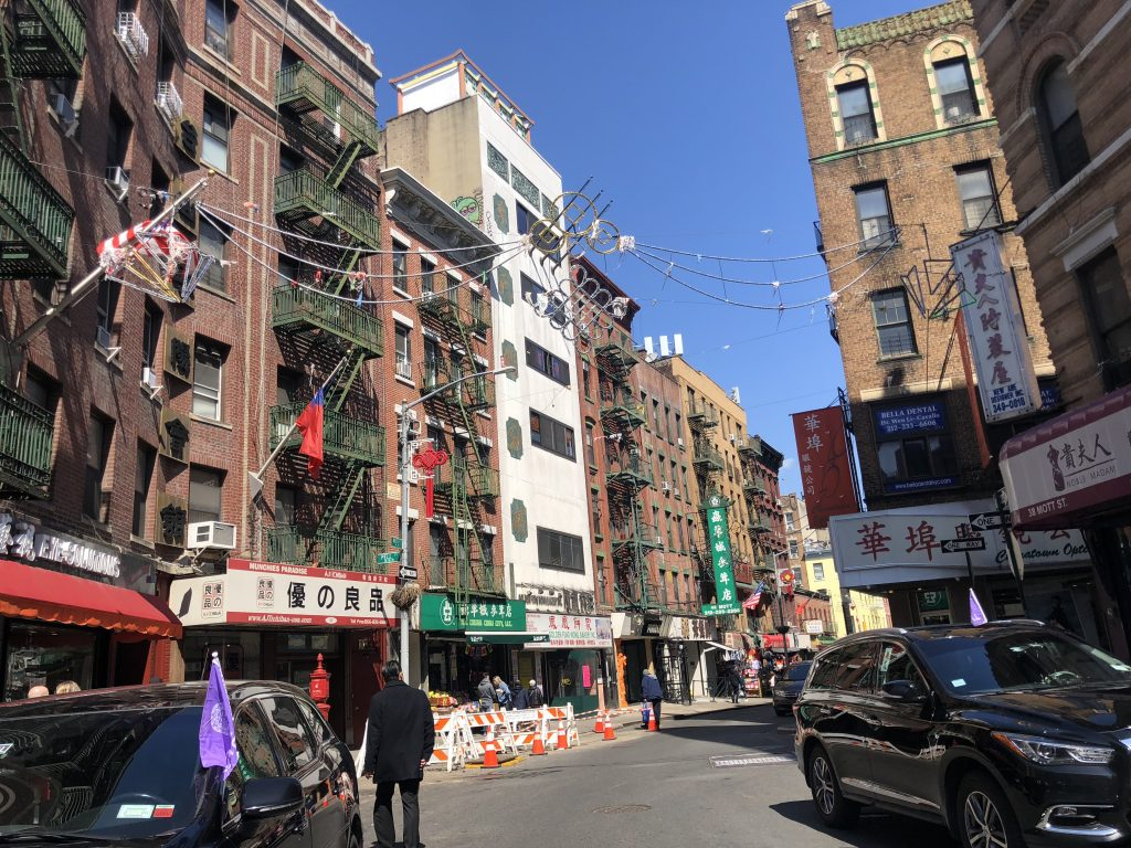 New York Chinatown Manhattan