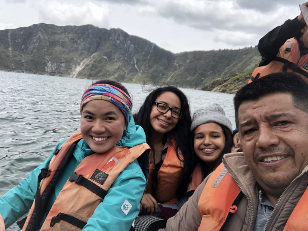 quilotoa lake kayaking