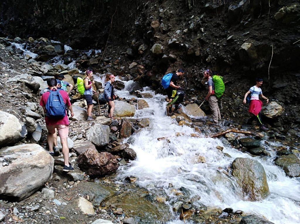 Salkantay trek group